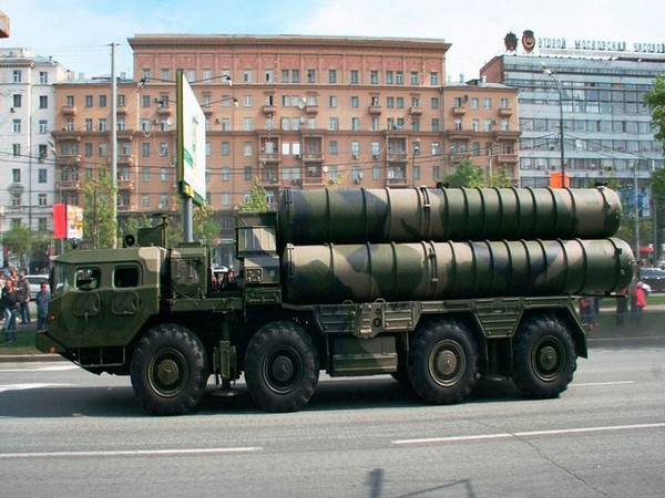 Russia's S-400 missile systems