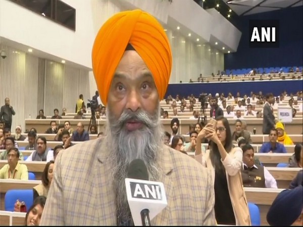 Shiromani Akali Dal (SAD) leader Prem Singh Chandumajra (Photo/ANI)