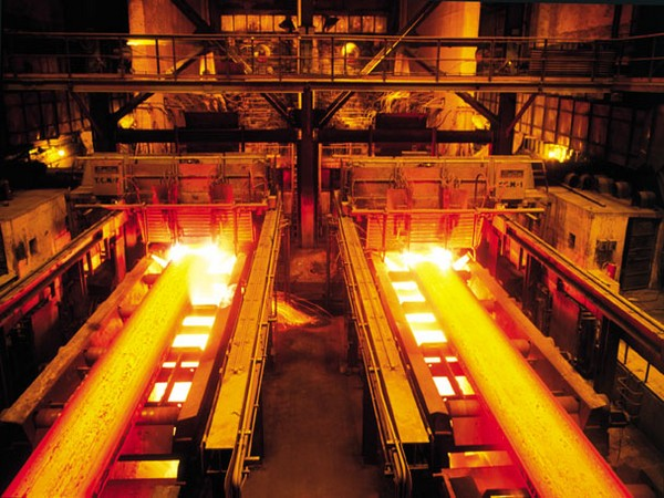 The iron and steel manufacturer has five integrated plants.
