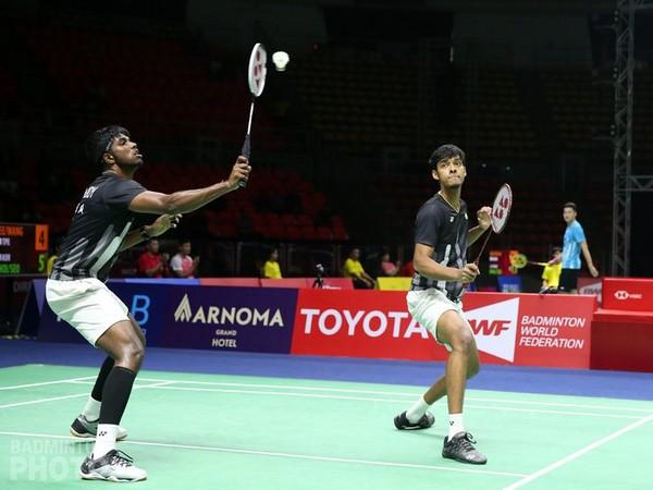 Indian men's double pair Satwiksairaj Rankireddy and Chirag Shetty (Photo/BAI Media Twitter)