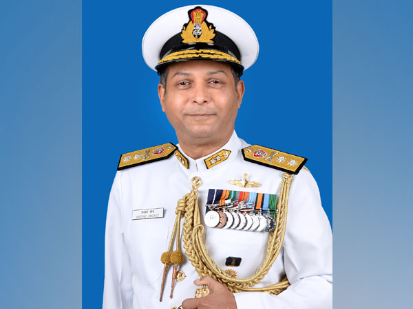 Rear Admiral Antony George.