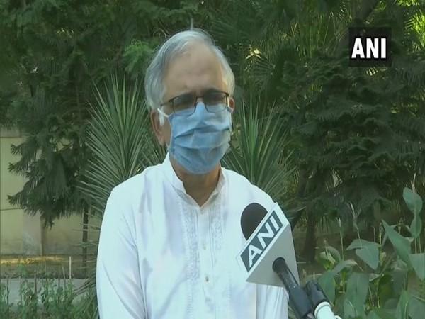 Shekhar Mande speaking to ANI in New Delhi on Friday.