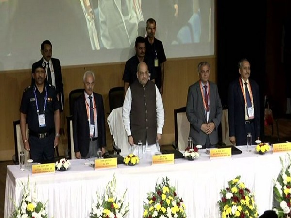 Union Home Minister Amit Shah at the inauguration of SCO Joint Exercise on Urban Earthquake Search and Rescue - 2019 on Monday.