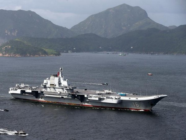 Japan has sent destroyer JS Suzutsuki after China's aircraft carrier group was spotted in Okinawa