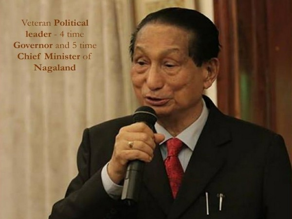 Prominent Congress leader and former Nagaland Chief Minister Dr SC Jamir