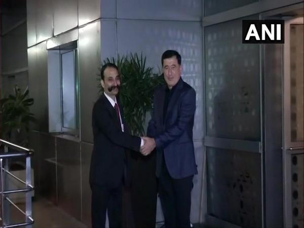 Vladimir Norov, Secretary-General of Shanghai Cooperation Organisation arrives in Delhi