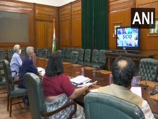 EAM S Jaishankar takes part in the video conference meeting of Foreign Ministers of SCO member countries