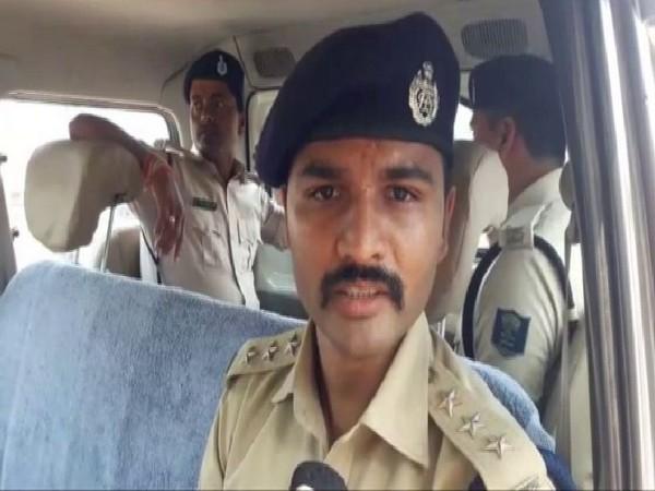 SDPO Kiran Jadhav speaking to ANI in Patna on Friday. Photo/ANI
