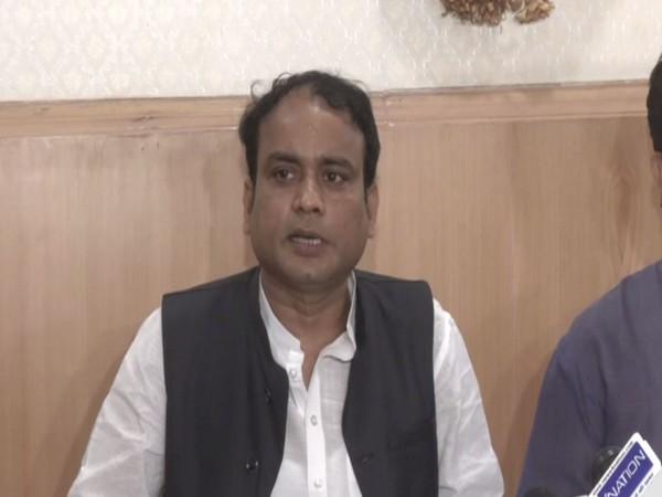 LJP (P) spokesperson Shravan Kumar Agrawal. (Photo/ANI)