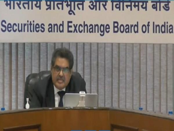 SEBI Chairman Ajay Tyagi addressing 'CAPAM 2021 -- Beyond India@75: Accelerating Growth Through Capital Market'