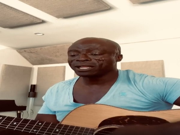 Still from the video shared by singer Seal (Image source: Instagram)