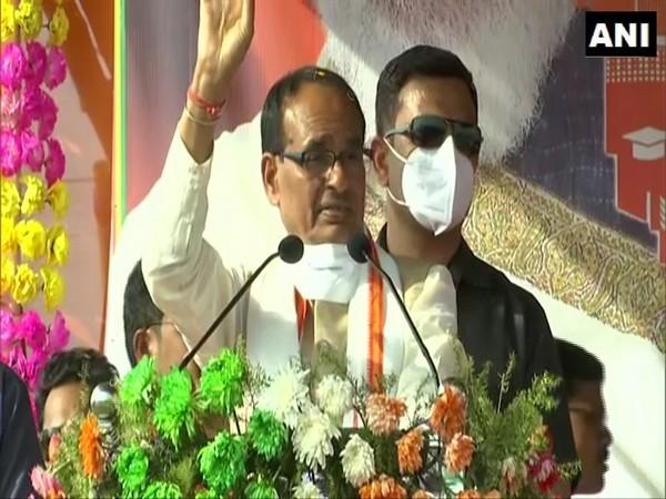 Madhya Pradesh Chief Minister Shivraj Singh Chouhan. (Photo/ANI)