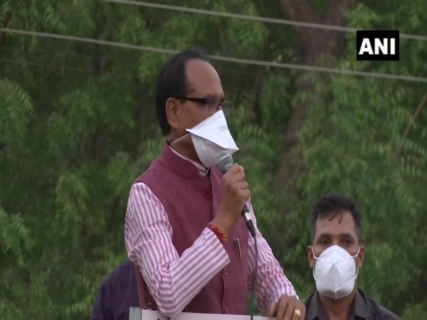 Madhya Pradesh Chief Minister Shivraj Singh Chouhan on Monday. (Photo/ANI)