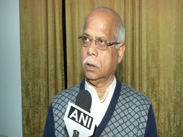 BJP leader Shiv Prasad Shukla speaks to ANI in New Delhi on Sunday [Photo/ANI]