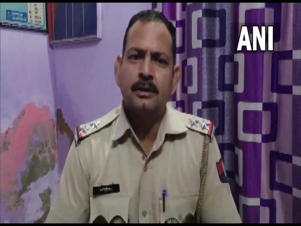 SHO of Barodameo police station Chandrashekhar. (Photo/ ANI)
