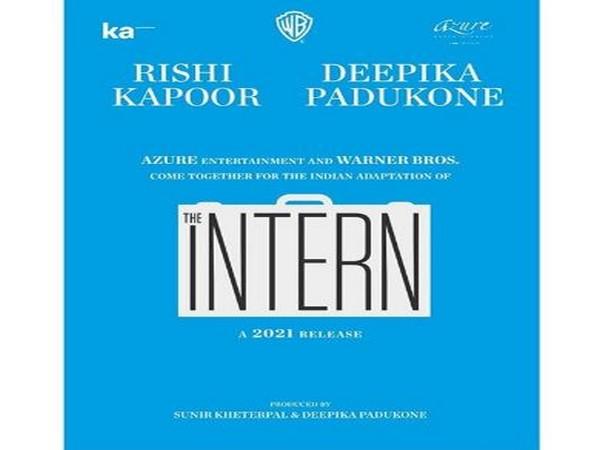 Deepika Padukone to star in Indian adaptation of 'The Intern'.