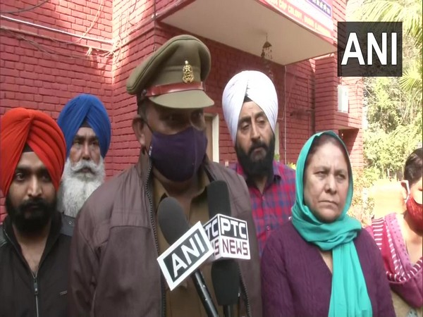 Sub Inspector, Suriya P Singh member of the Special Investigation Team (SIT) of the Uttar Pradesh government probing the 1984 anti-Sikh riots. [Photo/ANI]