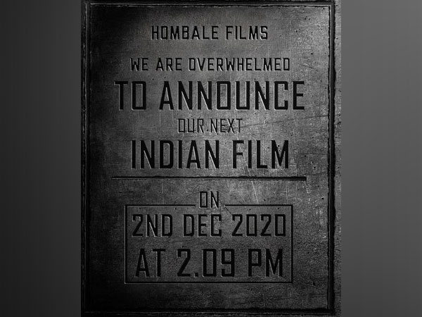 Image shared by Hombale Films (Image courtesy: Instagram)