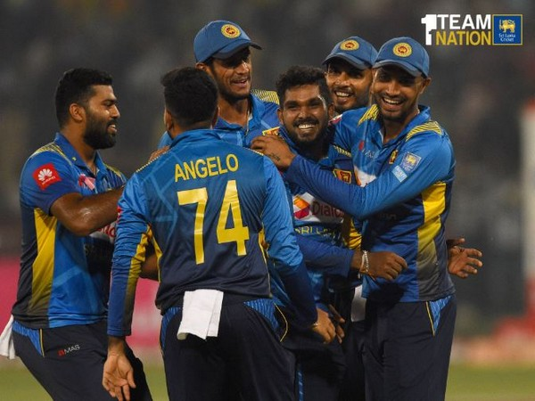 Sri Lanka defeated Pakistan by 13 runs in the third T20I on Wednesday. (Photo/ Sri Lanka Cricket Twitter)