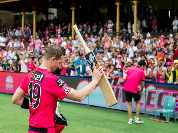 Steve Smith (Photo/ Sydney Sixers Twitter)