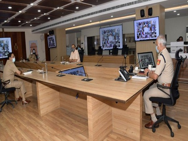 On the eve of COVID weekend curfew, Delhi Police Commissioner SN Shrivastava today reviewed preparedness and plan of action for strict enforcement of weekend restrictions on ground