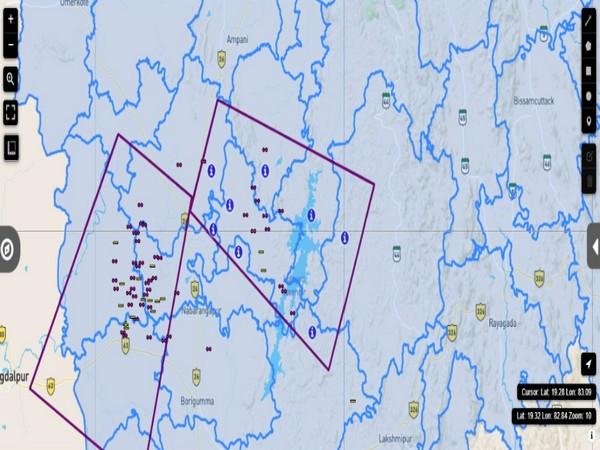 SRC, Odisha Govt issues alert for thunderstorm accompanied by lightning. (Photo Source - SRC, Odisha Govt)
