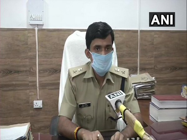 Vinay Tiwari, Patna (Central) City SP talking to ANI on Wednesday. [Photo/ANI]