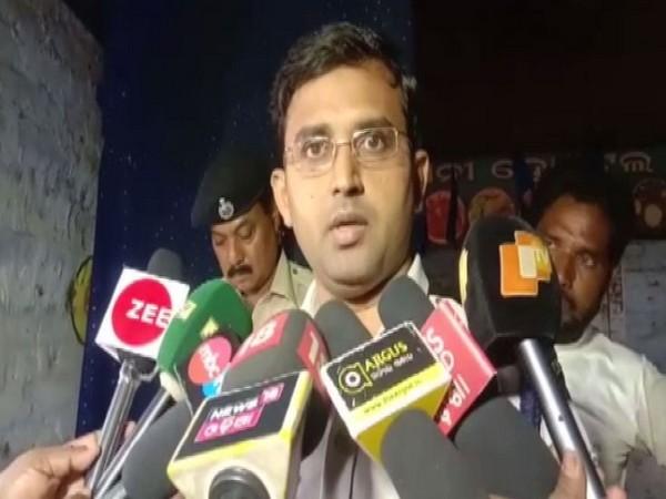 Balasore SP Jugal Kishor Bhanoth speaking to reporters on Friday. Photo/ANI