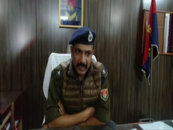 Ambedkar Nagar SP Alok Priyadarshi Speaking to ANI on Wednesday.