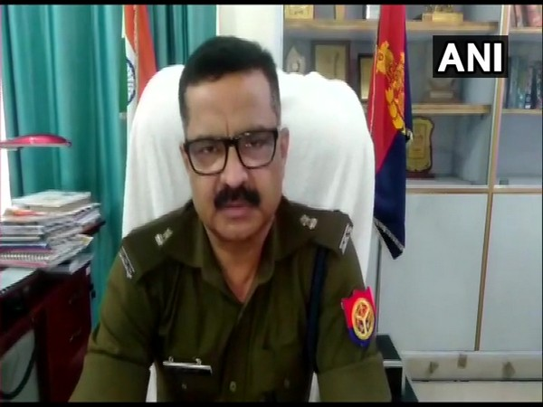 Superintendent of Police Rural Ranvijay Singh speaking to media on Friday. (Photo/ANI)