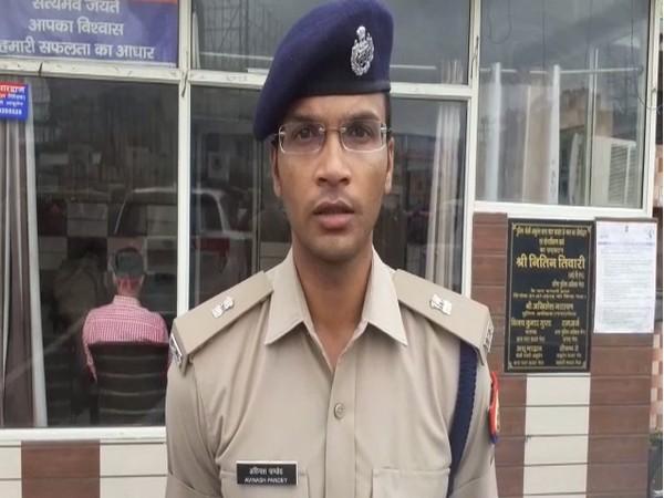 Avinash Pandey, Superintendent of Police (Rural), Meerut speaking to ANI on Friday. [Photo/ANI]