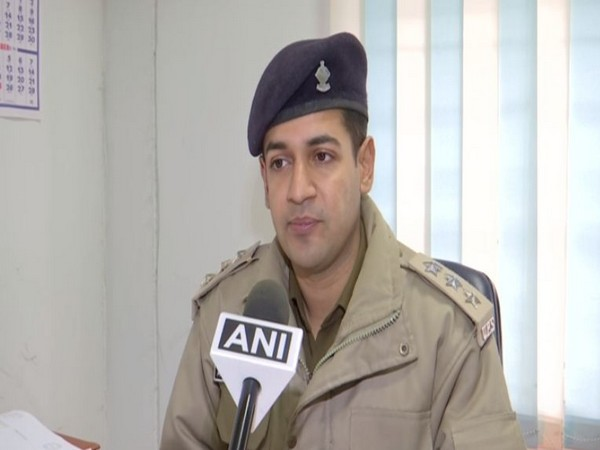 Ankush Mishra, Deputy Superintendent of Police (SP) Cyber Crime division.