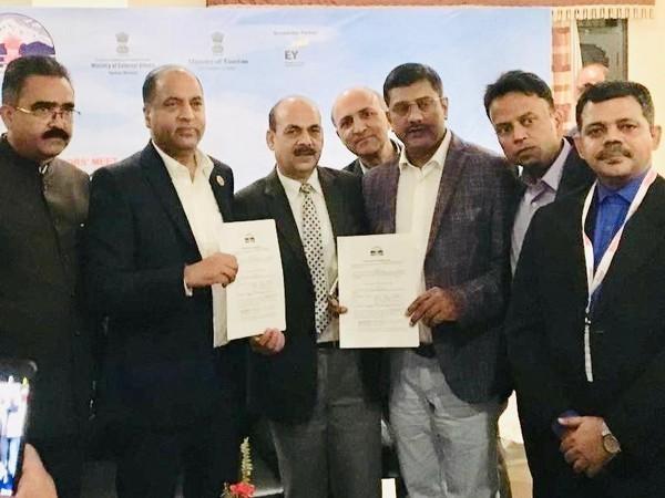 The team of SRAM & MRAM with Himachal Pradesh Chief Minister Jai Ram Thakur