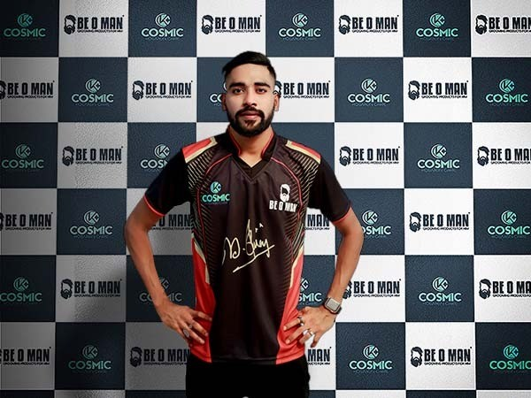 BE O MAN ordains Indian Cricketer Mohammed Siraj as their Brand Ambassador