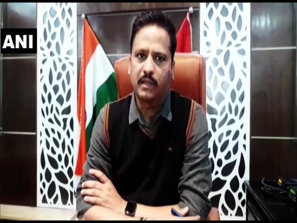 Meerut SSP Ajay Sahni speaking to ANI on Thursday. Photo/ANI