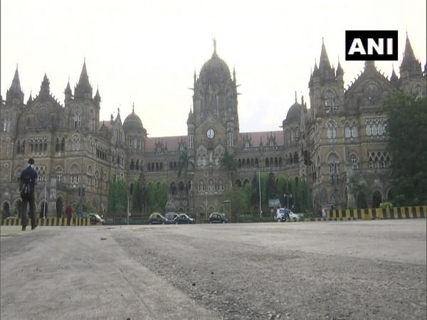 Visuals from near CST station, Mumbai