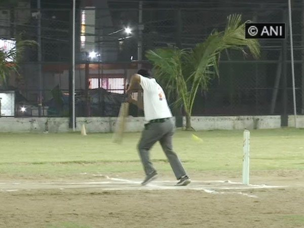 Election Commission organises More Raipur Vote Cricket Tournament under SVEEP campaign (Photo/ANI)