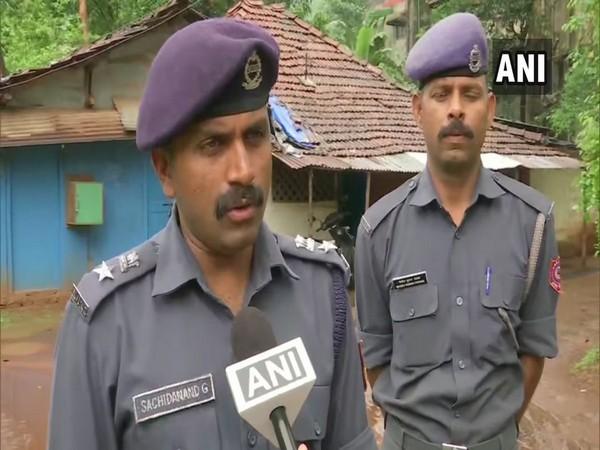 National Disaster Response Force (NDRF) officer Sachidanand Gawade