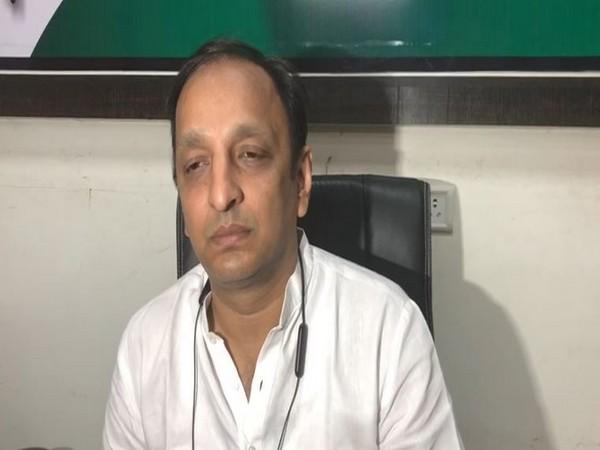 Congress spokesperson Sachin Sawant [Photo/ANI]