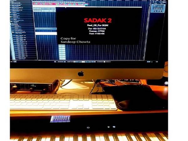 Production set-up of 'Sadak 2' (Image Source: Instagram)