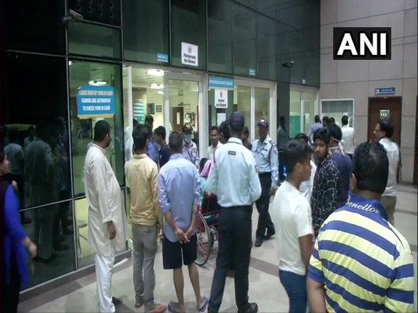 A visual from Safdarjung Hospital, New Delhi, on Thursday. (Photo/ANI)