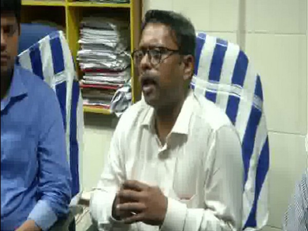 Ernakulam district collector K. Mohammed Y. Safirulla addressing a press conference in Kochi on Monday. Photo/ANI