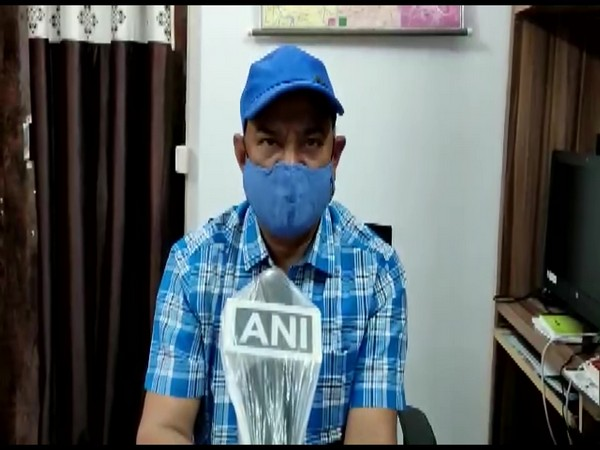 Shahdol District Magistrate (DM) Satendra Singh speaking to ANI on Sunday. (Photo/ ANI)
