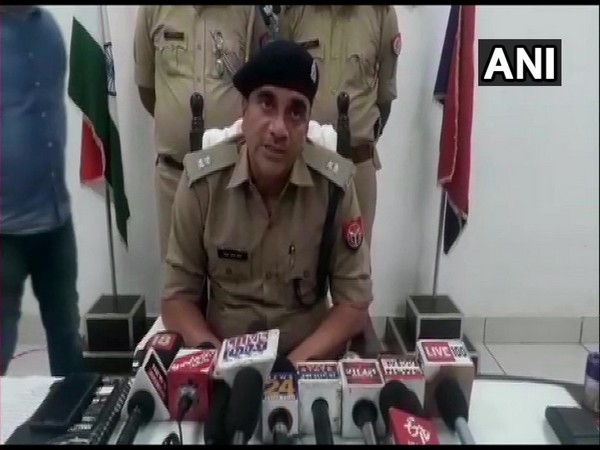 Saharanpur SP (rural) while talking to media reporters.