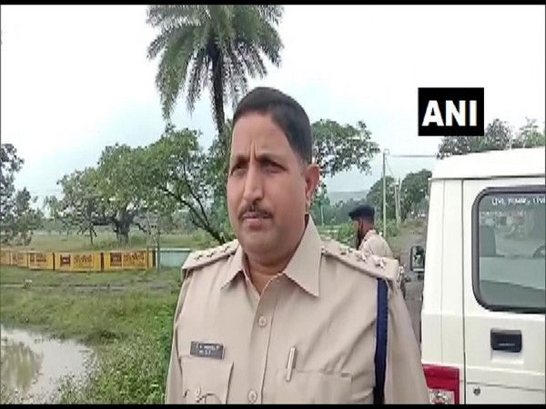 Pramod Kumar Mishra, Deputy superintendent of police (SDPO), Barharwa Sahebganj (Photo/ANI)