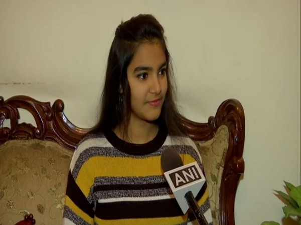 Sahira Jain who bagged the gold medal in the 11th National Dance Sport Championship.