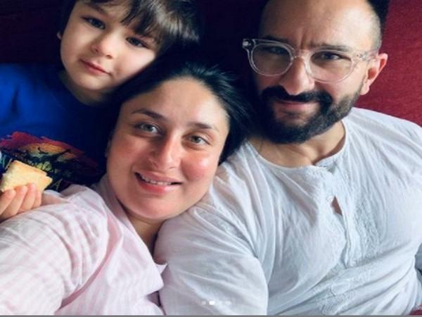 Celebrity couple Kareena Kapoor, Saif Ali Khan and their son Taimur Ali Khan (Image Source: Instagram)