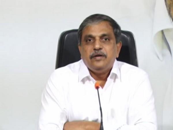 YSRCP general secretary and advisor to Andhra Pradesh government, Sajjala Ramakrishna Reddy. [Photo/ANI]