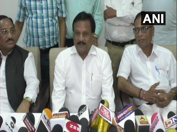 Madhya Pradesh Minister Sajjan Singh Verma addressing media at Jhabua on Monday.
