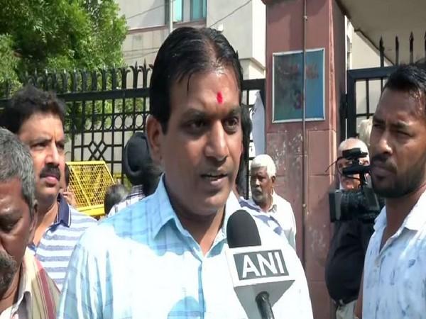Vinay Kumar talking to ANI in New Delhi on Wednesday. Photo/ANI